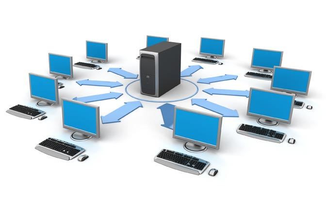 computer network is a computer network system which represents a